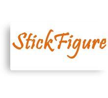 Figure Stick Canvas Print