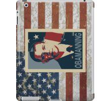 Obamanning iPad Case/Skin