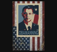 Obamanning by blackiguana
