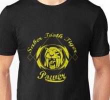 Saber Tooth Tiger Power Unisex T-Shirt