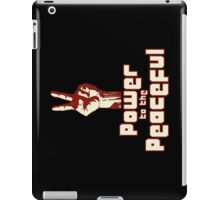 Power to the Peaceful iPad Case/Skin