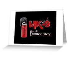 MK 9 Greeting Card