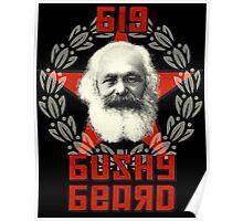 Big Bushy Beard Poster