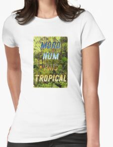 Pais Tropical – A Hell Songbook Edition - Olympic Games Rio de Janeiro - Brazil Womens Fitted T-Shirt