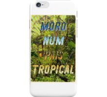 Pais Tropical – A Hell Songbook Edition - Olympic Games Rio de Janeiro - Brazil iPhone Case/Skin
