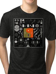Bon Iver - 22, A Million Tri-blend T-Shirt