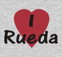 I Love Rueda - Dance T-Shirt by deanworld