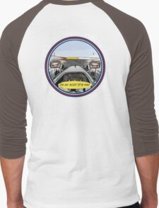 Daniel RICCIARDO_HungarianGP VIctory_2014 Men's Baseball ¾ T-Shirt