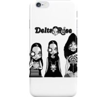 Delta Rose label cube hearts and frank darko iPhone Case/Skin
