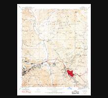 USGS TOPO Map Arizona AZ Globe 311498 1945 24000 Unisex T-Shirt
