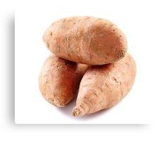Sweet potatoes Canvas Print
