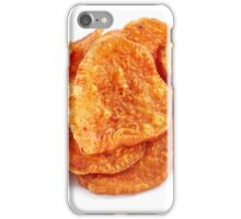Homemade sweet potatoes chips iPhone Case/Skin