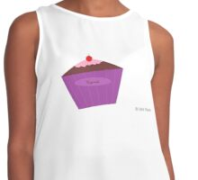 Cupcake with a Cherry on Top Contrast Tank