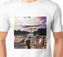 Reflecting Pool Unisex T-Shirt