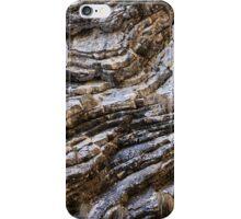 Sedimentary rocks background iPhone Case/Skin