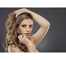 Beauty model Photographic Print