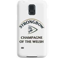 Strongbow Champagne of the Welsh Samsung Galaxy Case/Skin