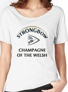 Strongbow Champagne of the Welsh Women's Relaxed Fit T-Shirt