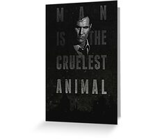 true detective Greeting Card