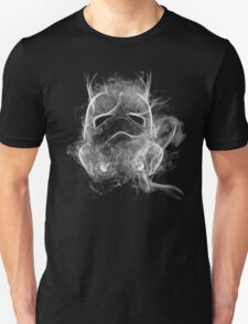 Smoke Stormtrooper Helmet - Black & White T-Shirt
