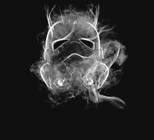 Smoke Stormtrooper Helmet - Black & White Unisex T-Shirt