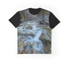 River in a canyon Graphic T-Shirt