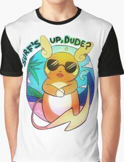 Surfin' Raichu Graphic T-Shirt