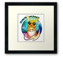 Surfin' Raichu Framed Print