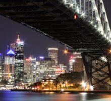 Sydney by night Sticker