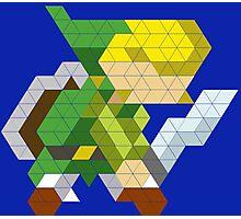 Link Triangle Design Photographic Print