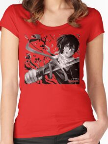Noragami (Yato and Sekki), Anime Women's Fitted Scoop T-Shirt