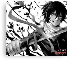 Noragami (Yato and Sekki), Anime Canvas Print