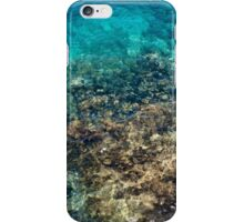 Abstract Blue Sea iPhone Case/Skin