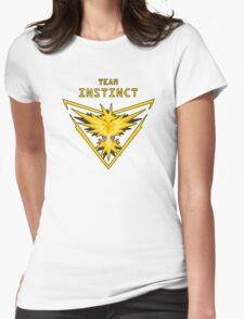 Yellow-TI Womens Fitted T-Shirt