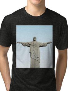 Christ The Redeemer Tri-blend T-Shirt