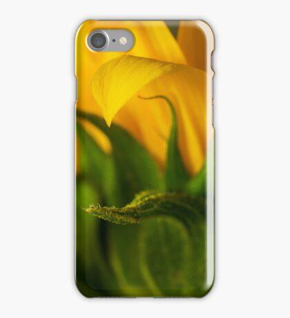 helianthus Macro iPhone Case/Skin