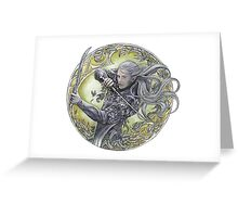 Warrior of Mirkwood Greeting Card