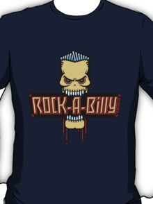 Rock-A-Billy Skull T-Shirt