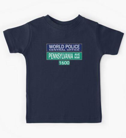 World Police Kids Tee