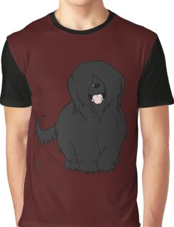Black Briard - Yes, I have eyes Graphic T-Shirt