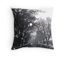 SNOW-DOME VILLAGE - ARROWTOWN New Zealand Throw Pillow