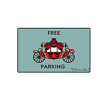 "Mozart and Marie ""Free Carriage Parking"" Mozopoly Photographic Print"