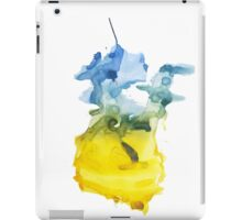 Misty Multicolour Peace Sign iPad Case/Skin