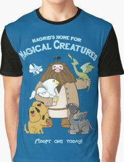 Harry Potter - Magical Creatures  Graphic T-Shirt