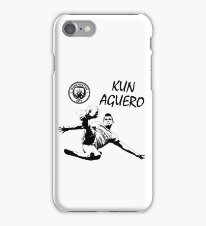 Sergio Kun Aguero - Manchester City iPhone Case/Skin