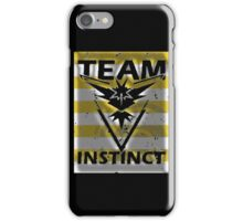 Team Instinct yellow full stripes iPhone Case/Skin