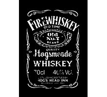 Harry Potter - Whiskey Photographic Print