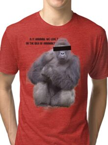 The Idea of Harambe Tri-blend T-Shirt
