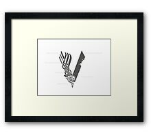 vikings Framed Print