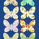 UNUSUAL EXOTIC BUTTERFLIES by RainbowArt